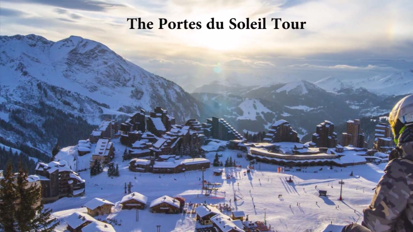 How to see the whole Portes du Soleil in a day?